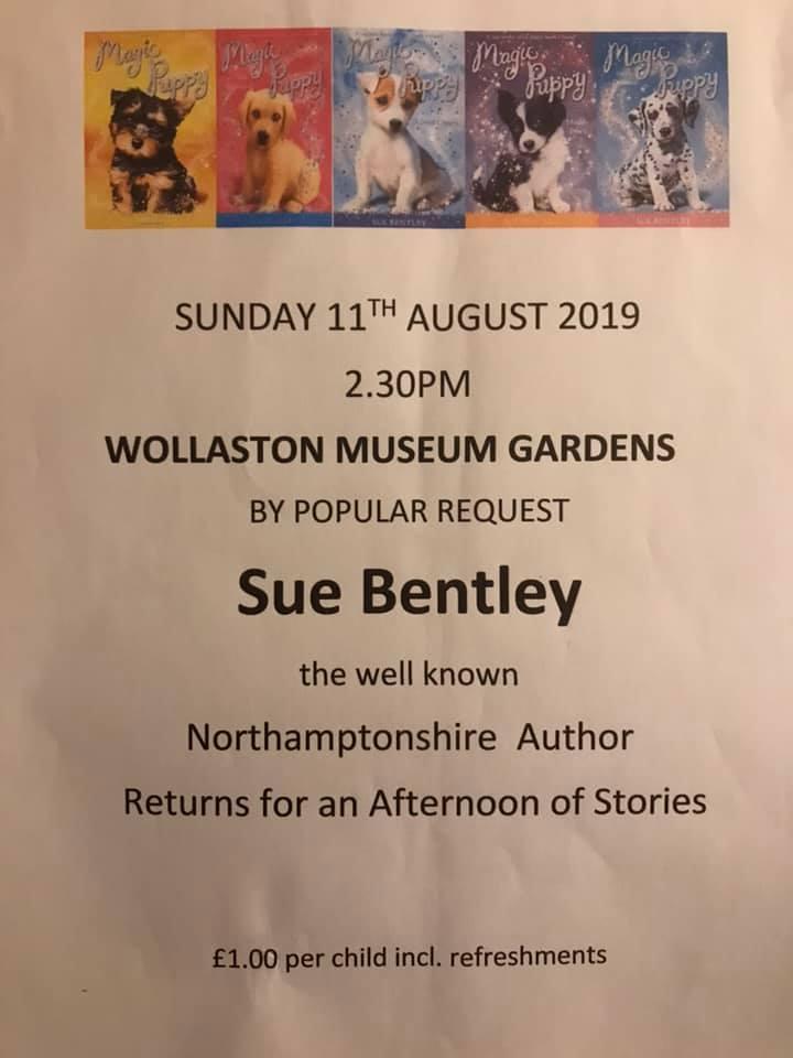 Sue Bentley poster