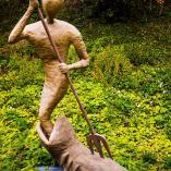 Poseidon statue - museum garden