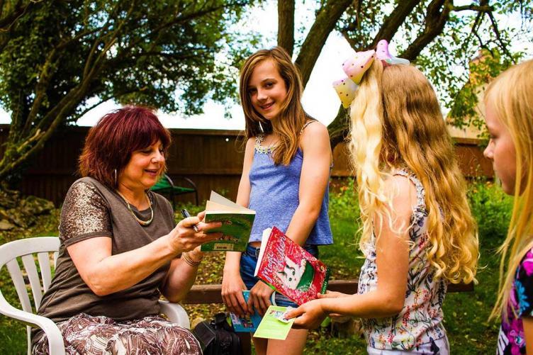 reading event - museum garden